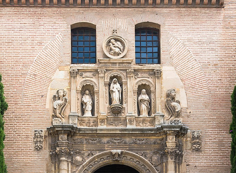 File:Church Santa Ana San Gil detail facade Granada Spain.jpg