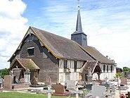 Church of Drosnay (Marne, Fr)