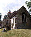 Church of St Mary exterior from southeast Henham Essex England.jpg