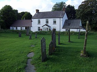 Puncheston - Image: Churchyard, Casmael Puncheston geograph.org.uk 950836