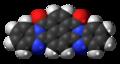 Cis-Perinone molecule spacefill.png