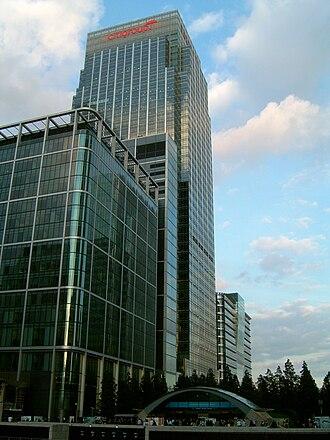 Citigroup Centre, London - Image: Citigroup EMEA Centre
