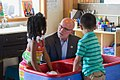 City Councilmember Tim Burgess with preschoolers, 2015 (38682935101).jpg