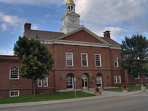 Otter Tail County, Minnesota - Fergus Falls City Hall in Fergus Falls, Minnesota.