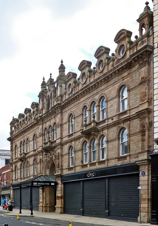 Civic Hall, Barnsley (7604459192)