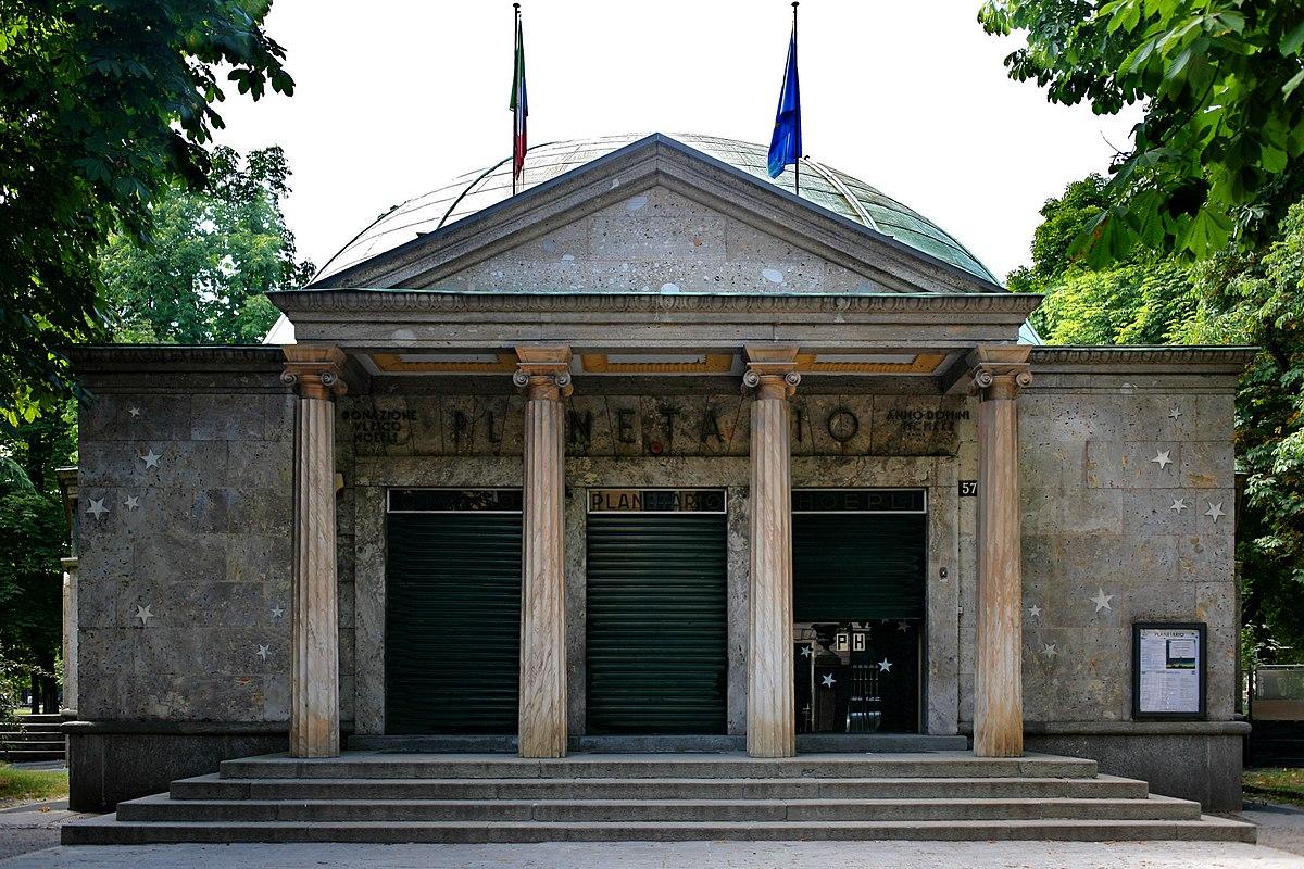 Civico planetario ulrico hoepli wikipedia for Villa mozart milano