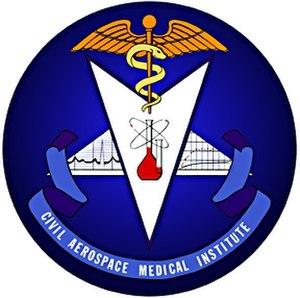 Civil Aerospace Medical Institute - Image: Civil Aerospace Medical Logo 4inch