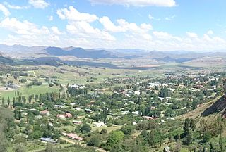 Clarens, Free State Place in Free State, South Africa