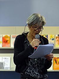 Claudie Haigneré ouvrant la journée « Femmes de science » le 1er février 2014 - Photo X-Javier - CC-BY-SA