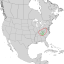 Clethra acuminata range map 1.png