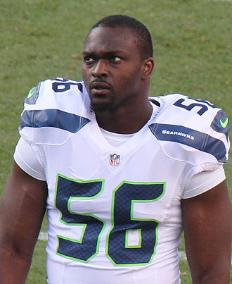Cliff Avril - Avril with the Seattle Seahawks in 2014