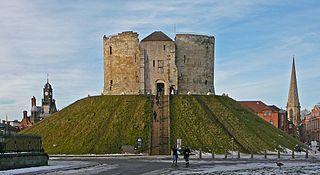 York Castle Castle in York, England