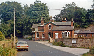 Clifton (Mayfield) railway station Former railway station in Derbyshire, England