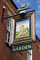 Closeup of the sign for the Jude the Obscure pub, Jericho - geograph.org.uk - 505441.jpg