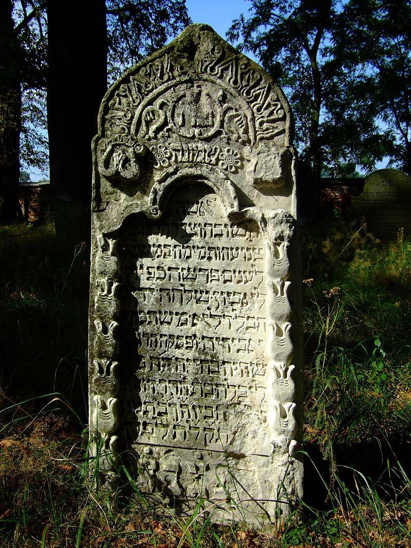 Cmentarz żydowski w Dobrodzieniu15.JPG