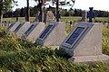 Cmentarz wojenny nr 118 – Staszkówka – widok na nagrobki fot. nr 2 – stan na wrzesień 2019.jpg