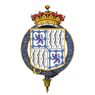 Coat of Arms of Claude Bowes-Lyon, 14th Earl of Strathmore and Kinghorne, KG, KT, GCVO, TD.png