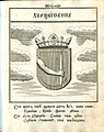 Coat of Arms of Herzegovina from Stemmatographia by Hristofor Zhefarovich (1741).jpg