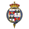 Coat of Arms of Rupert Guinness, 2nd Earl of Iveagh, KG, CB, CMG, VD, ADC, FRS, DL.png