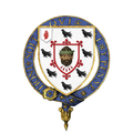 Coat of Arms of Sir William Gladstone, 7th Baronet, KG, JP, DL.png