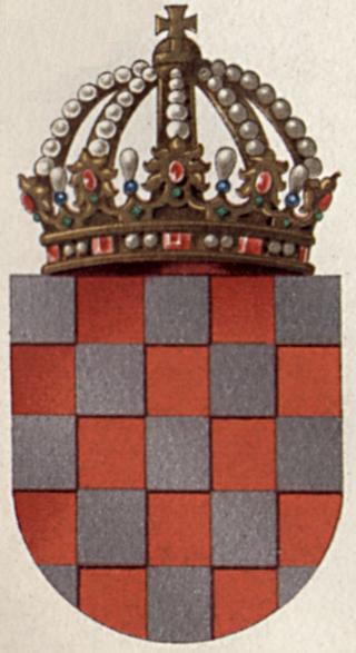 Kandidatkinja s liste Desne lige : Otkako su muškarci ženama dali pravo glasa svijet je otišao kvragu - Page 5 320px-Coat_of_arms_of_the_Kingdom_of_Croatia_from_Meyers_1908