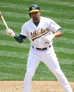 Coco Crisp - Crisp with the Athletics in 2015