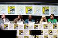 Cody Cameron, Kris Pearn, Terry Crews, Anna Faris and Bill Hader, 2013 San Diego Comic Con.jpg