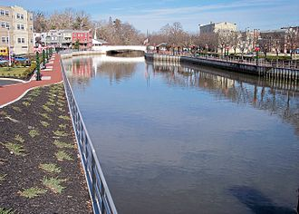 Bridgeton, New Jersey - The Cohansey River in Bridgeton in 2006