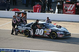 Cole Custer - Custer's No. 00 Pro Series East car at Richmond International Raceway in 2013