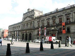 Palacio de Minería palace in Mexico