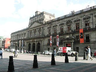 Palacio de Minería - Palace of Mines, Mexico City