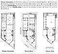 Colegio Nacional de Arquitectos de Cuba, Plans.jpg