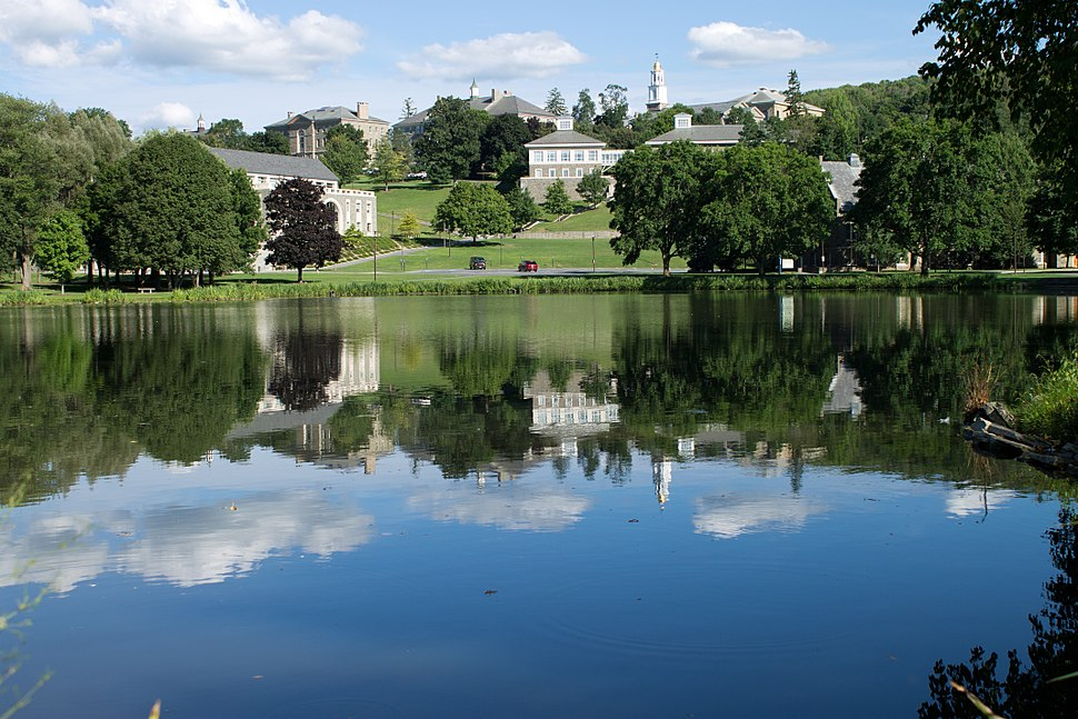 Colgate University Across Taylor Lake