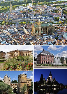 Metz Prefecture and commune in Grand Est, France