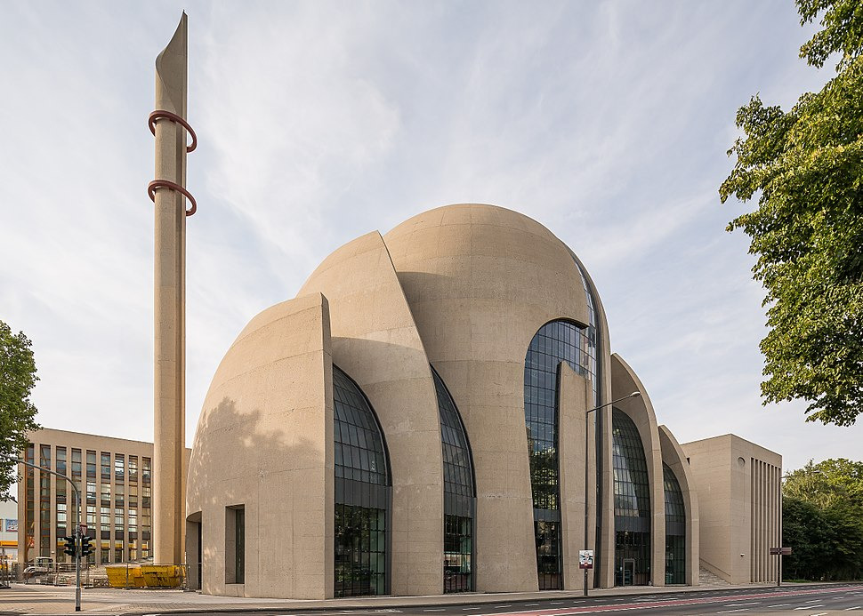 Cologne Germany DITIB-Central-Mosque-01
