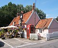Colourful summery scene at the Fox Inn, Newbourne - geograph.org.uk - 894547.jpg