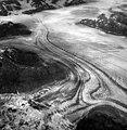 Columbia Glacier, Valley Glacier and Calving Distributary, Kadin Embayment, Terentiev Lake, August 24, 1965 (GLACIERS 957).jpg
