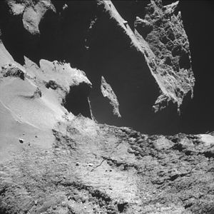 Comet 67P on 24 October 2014 NavCam D.jpg
