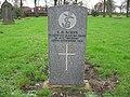 Commonwealth War Grave in Jarrow Cemetery (WW1-01) - geograph.org.uk - 1603262.jpg