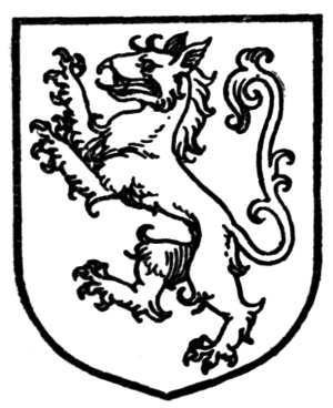 Tyger (heraldry) - A tyger, from The Complete Guide to Heraldry