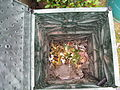 Composter at the start of being filled (2 weeks old) (3319714316).jpg
