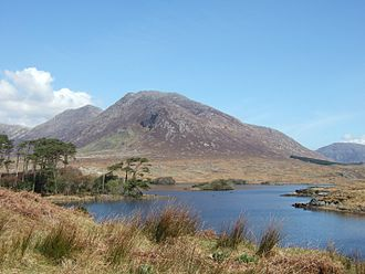 Connemara - A view of Connemara, taken from the N59 road.