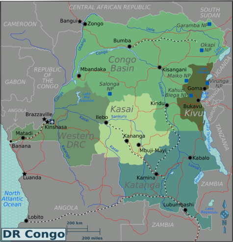 Democratic Republic of the Congo  Travel guide at Wikivoyage