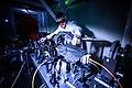 Construction du laser Apollon grand projet scientifique qui implique plusieurs laboratoires de l'Ecole Polytechnique (le LULI, LSI, LOA et LLR).jpg