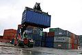 Containerhåndtering i Orkanger havn (6947051760).jpg