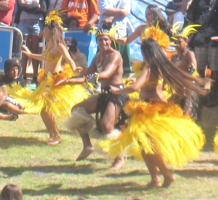 Cook Islands dancers at Auckland's Pacifica festival 3a