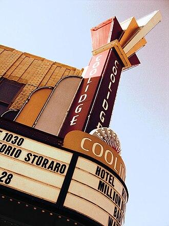 Coolidge Corner - The Coolidge Corner Theatre marquee