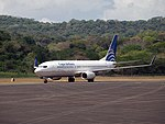 Copa Airlines B737-8V3 (HP-1721CMP) at Howard Air Force Base, Panama.jpg