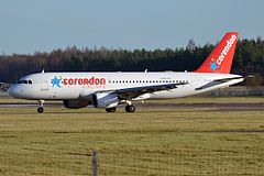 A320 w barwach Corendon Airlines.