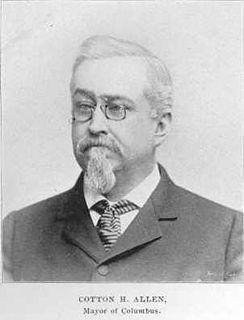 Cotton Hayden Allen former mayor of Columbus, Ohio